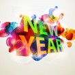 Royalty-Free Stock Imagem Vetorial: New year design