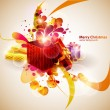 Christmas gifts. - Image vectorielle