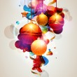 Christmas toys - Imagens vectoriais em stock