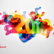 Royalty-Free Stock 矢量图片: New year design