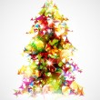 Christmas tree - Imagen vectorial