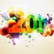 New year design - Stockvectorbeeld