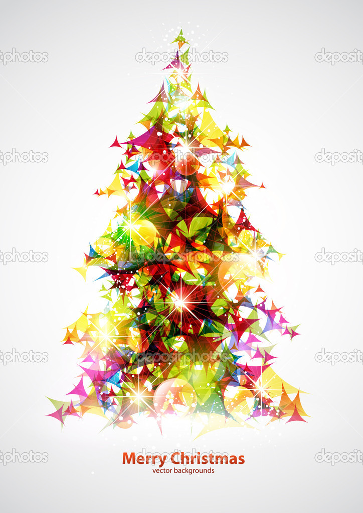 Christmas tree  — Stock Vector #4243198