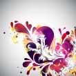 Royalty-Free Stock Vectorafbeeldingen: Floral background.