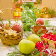 Christmas table — Stock Photo #4388884