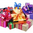 Gifts for Christmas and new year — Stock Photo #4055655