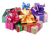 Gifts for Christmas and new year — Stock Photo