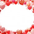 Background of hearts — Stock Photo #4568974