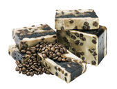 Coffee soap — Stock Photo