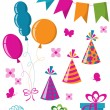 Celebration set — Stockvector #3958355