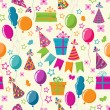 Royalty-Free Stock Vector Image: Celebration seamless background