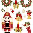 Royalty-Free Stock Vector Image: Christmas and New Years icon set
