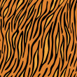 Tiger skin seamless background — Stock Vector #5262677