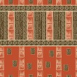 African style seamless pattern - Image vectorielle