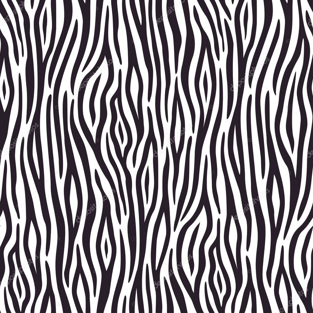Seamless background with zebra skin pattern — Stock Vector #5262641