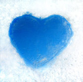 Ice heart — Stockfoto