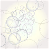 Water bubbles — Stock Vector