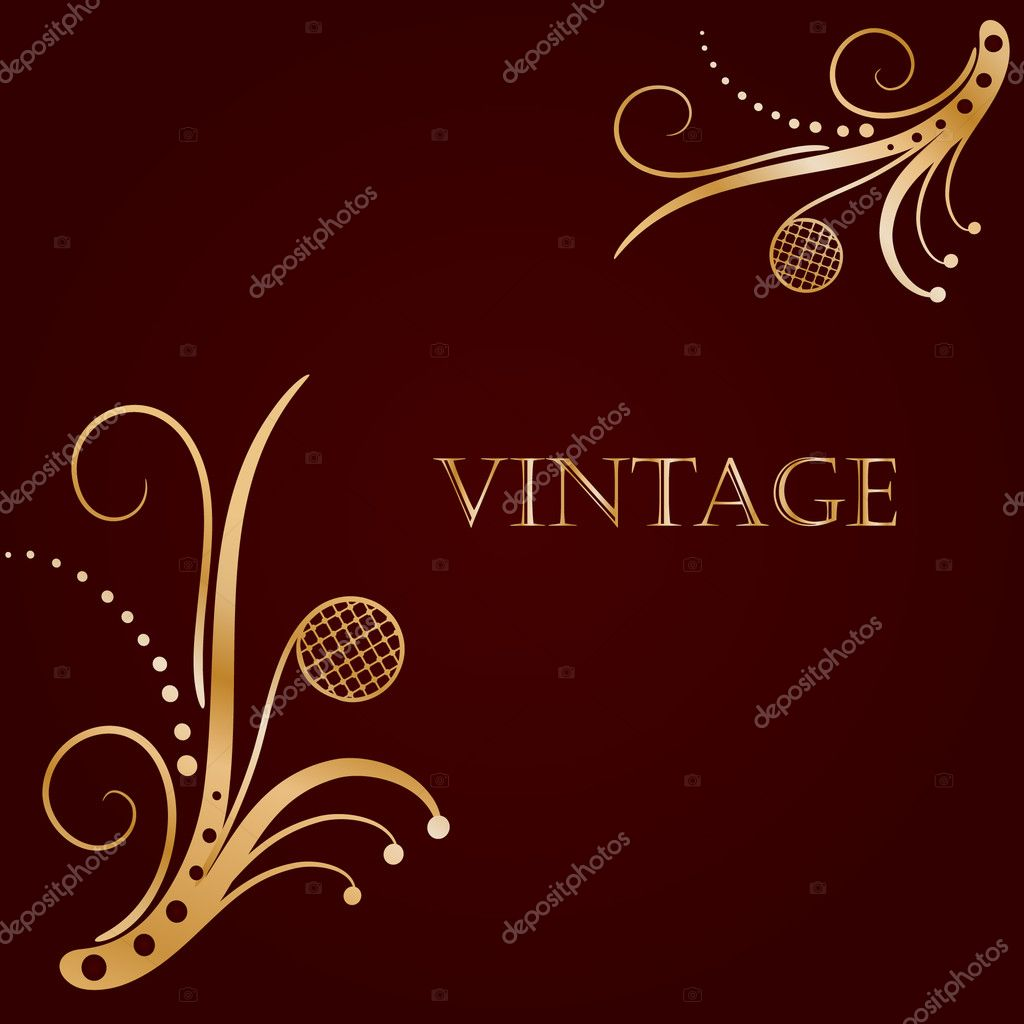 Luxury floral background  — Stock Vector #4086260