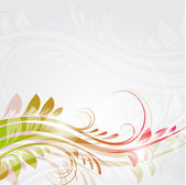 Floral background. Vector forma — Stock Vector