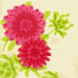 Stock Photo: Abstract flower background