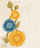 Abstract flower background — Stock Photo