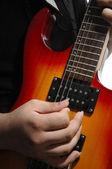 Gitarr strängar — Stockfoto