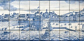 Tiles detail – Old Lisbon View — Stock Photo