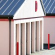 Stock Photo: Public storage units