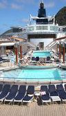 Summer cruise ship vacation. — Stock Photo