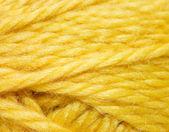 Close up of woolen knittin ball — Stock Photo