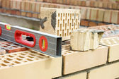 Bricks for building — Stock Photo