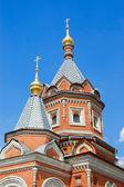 Ver de la vieja iglesia de yaroslavl, rusia — Foto de Stock