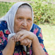 Portrait of the old woman — Stock Photo #4120142