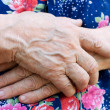 Hands of old woman — Stock Photo #4120154