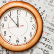 Composite of Calendar and Clock — Stock Photo #4120211
