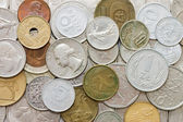 Old coins as a background — Stock Photo