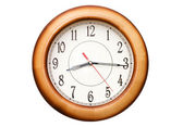 Mostrar hora aproximadamente nueve aislado — Foto de Stock
