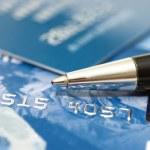 cartão de crédito — Foto Stock