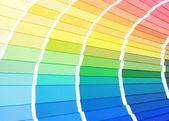 Wzornik kolorów do wyboru — Zdjęcie stockowe