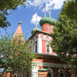View of old church in Yaroslavl, Russia - Stock Photo