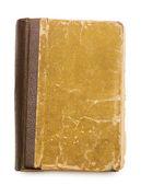 Starożytna księga na białym tle — Zdjęcie stockowe