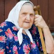 Portrait of the old woman — Stock Photo #5047345