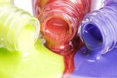 Nail polish close up — Stock Photo
