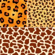 Decorative african background. SEAMLESS. — 图库矢量图片