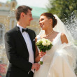 Bride and groom — Stock Photo #5188727