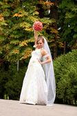 花嫁の肖像画 — ストック写真