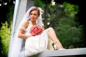 Retrato da noiva — Fotografia Stock