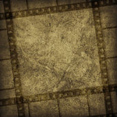 Grunge graphic abstract background with film — Stock Photo