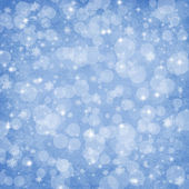 Abstract Winter background Christmas abstract bokeh — Stock Photo