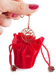 Little red bag — Stock Photo